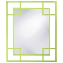 Lois Mirror - Glossy Green