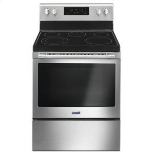 30-Inch Wide Electric Range With Shatter-Resistant Cooktop - 5.3 Cu. Ft. - FINGERPRINT RESISTANT STAINLESS STEEL