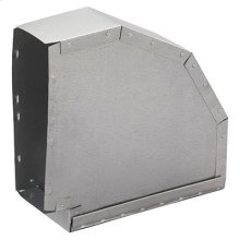 Horizontal Elbow Transition for Range Hoods and Bath Ventilation Fans