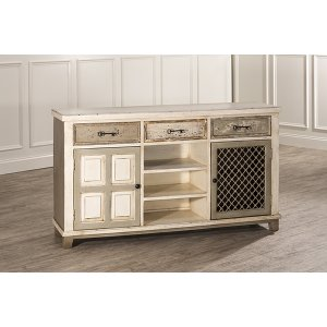 Hillsdale FurnitureLarose Two Door Console Table With Removable Wine Rack
