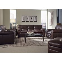 6983-06-10-TX0C Ottoman in Texas Black Oak TX0C (BROWN)