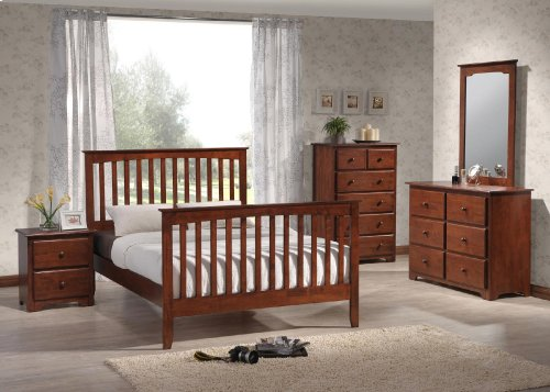 Mission Queen Footboard