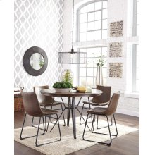 Round Dining Room Table w/ 4 Chairs