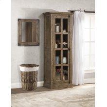 Tuscan Retreat® Tall Single Door Cabinet - Aged Gray