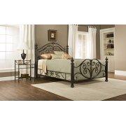 Grand Isle King Bed Set W/ Rails Product Image
