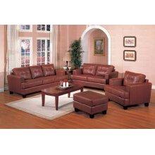 Brown Bonded Sofa