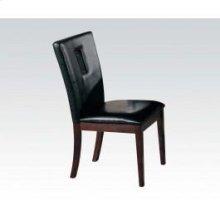 Black Pu Side Chair