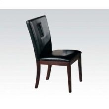 Black Pu Side Chair