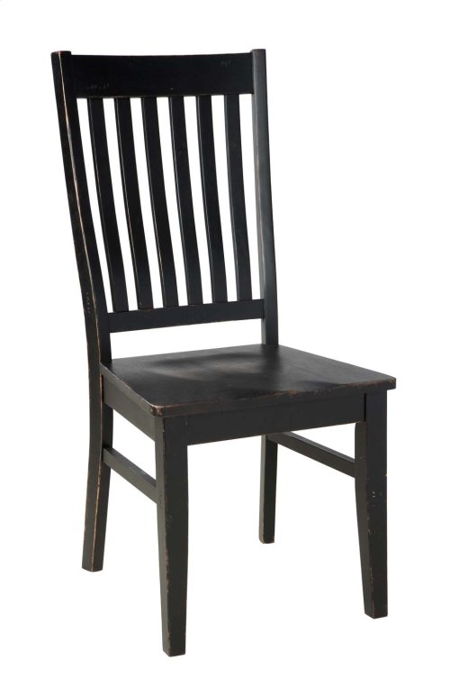 Clayco Bay - Black/Gray Set Of 2 Dining Room Chairs