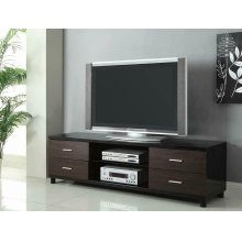 Contemporary Two-tone TV Console