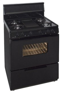 24 Inch Free Standing Gas Range