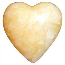 Honey Onyx Heart