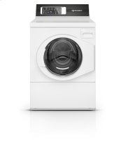 White Right Hand Hinge Front Load Washer Product Image