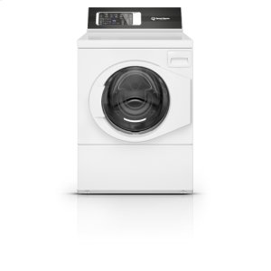 SPEED QUEENWhite Right Hand Hinge Front Load Washer