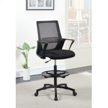 Contemporary Black Tall Office Chair
