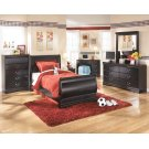 Huey Vineyard - Black 3 Piece Bed Set (Twin) Product Image