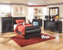 Huey Vineyard - Black 6 Piece Bedroom Set