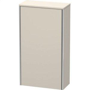 Semi-tall Cabinet, Taupe Matt (decor)