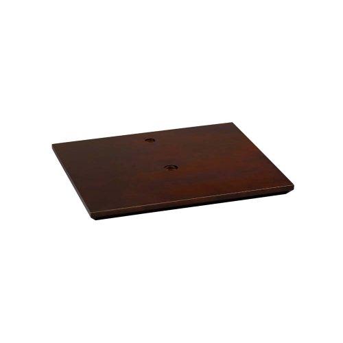 "Shoji 27"" Wood Vanity Top Counter in Vinatge Walnut"