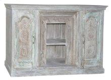 Wood 2Door Plasma Cabinet SFK