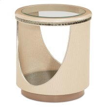 Upholstered End Table