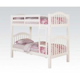 Heartland White T/t Bunk Bed