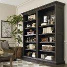 Emporium Smoked Oak Emporium Tall Single Open Bookcase Product Image