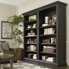 Emporium Smoked Oak Emporium Tall Single Open Bookcase Product Image