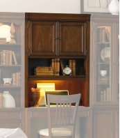 Home Office Cherry Creek Wall Desk Hutch