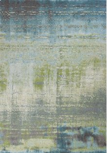 "Illusions 6206 Blue/green Escape 3'3"" X 4'11"""