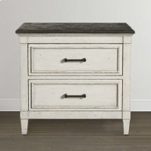 Bella Stone Top Nightstand
