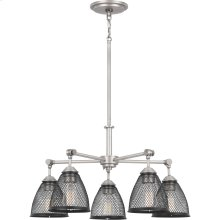Annex Chandelier in Antique Nickel