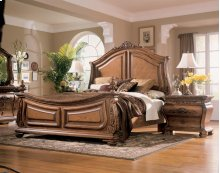 Wystfield - White/Brown 3 Piece Bed Set (Cal King)