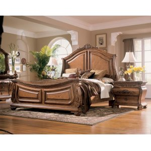 Ashley Furniture Wystfield - White/brown 3 Piece Bed Set (Cal King)