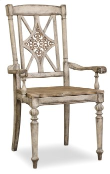 Dining Room Chatelet Fretback Arm Chair