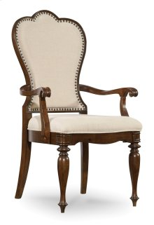 Dining Room Leesburg Upholstered Arm Chair
