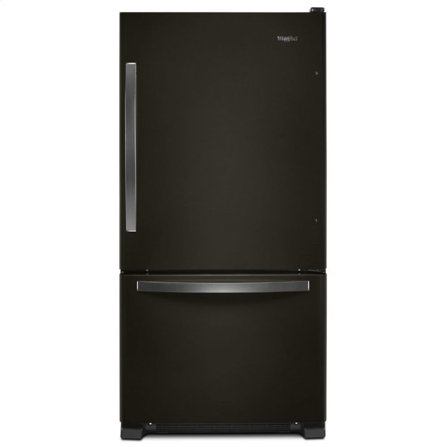 Whirlpool 33-inch wide Bottom-Freezer Refrigerator - 22 cu. ft.