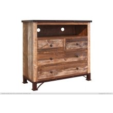 4 Drawer Media Chest