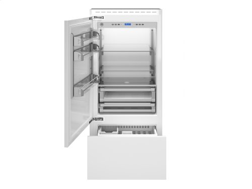 36 inch Built-In Bottom Mount Panel Ready Stainless