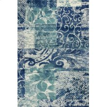 "Allure 4062 Blue/green Artisan 2'3"" X 7'6"" Runner"