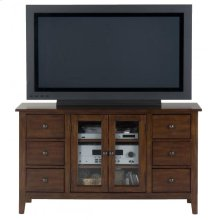Media Unit W/ 6 Drawers, 2 Adjustable Shelves and Wire Management