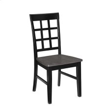 Dining Chair (2/Ctn) - Gray/Black Finish