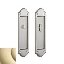 Lifetime Polished Brass PD016 Boulder Pocket Door