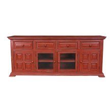"Charleston Red 70"" TV Stand"