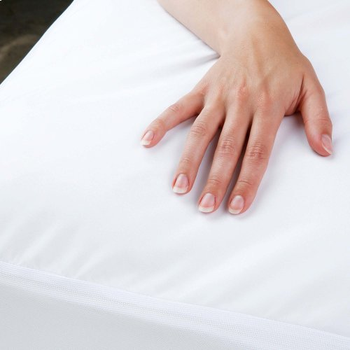 Sleep Calm + Ultra-Premium Mattress Protector Bed Sheet with Moisture and Bacteria Resistant Crypton Fabric, King