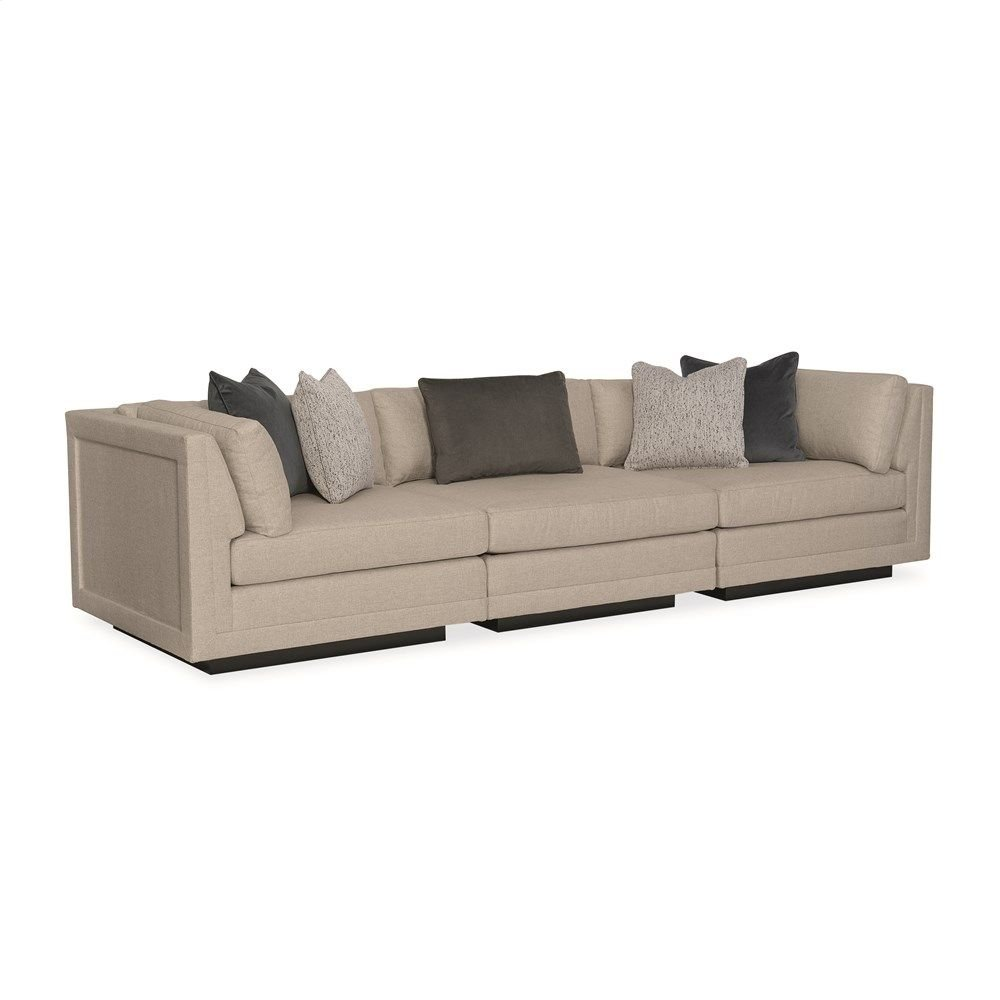 Fusion 3 Piece Sectional Sofa