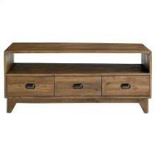 Salvaged Timber Entertainment Console