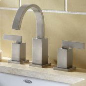 Times Square Arched Widespread Faucet - Brushed Nickel