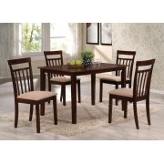ESPRESSO 5PC PK DINING SET Product Image