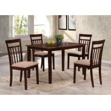 ESPRESSO 5PC PK DINING SET